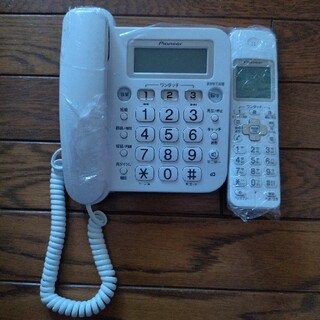 パイオニア(Pioneer)のパイオニア電話機 子機付き(その他)