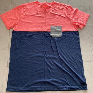 アメリカンイーグル(American Eagle)のアメリカンイーグル Tシャツ ポケティ 蛍光 海(Tシャツ/カットソー(半袖/袖なし))