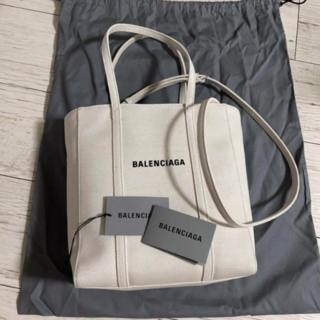 Balenciaga - BALENCIAバレンシアガ エブリデイトート キャンバス XS ロゴ 2way