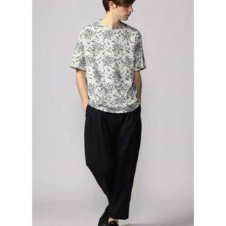 トゥモローランド(TOMORROWLAND)のコットンジャージー クルーネックTシャツ(Tシャツ/カットソー(半袖/袖なし))