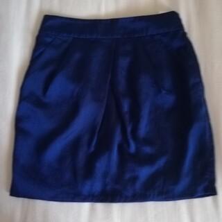 ユニクロ(UNIQLO)のユニクロ 紺ミニスカート(ミニスカート)