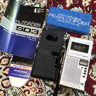 カシオ(CASIO)のオリンパス PEARLCORDER SD3 マイクロカセット付き(ポータブルプレーヤー)