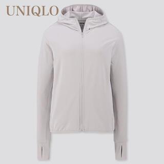 UNIQLO エアリズム UVカットメッシュパーカー M
