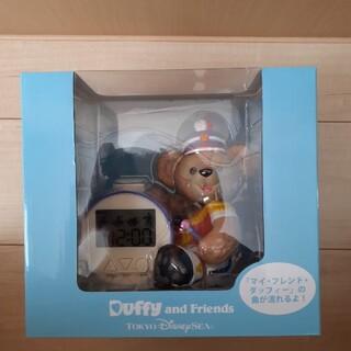 ダッフィー(ダッフィー)のディズニー35周年 ダッフィー時計(置時計)