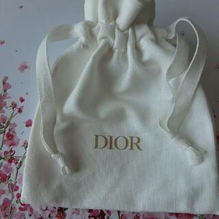 Dior - ディオール白いミニ巾着