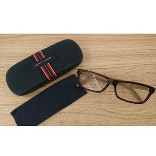 トミーヒルフィガー(TOMMY HILFIGER)のトミーヒルフィガー 眼鏡フレームとケース(サングラス/メガネ)