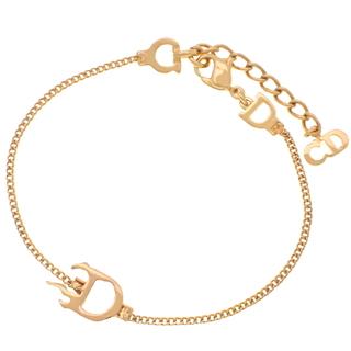 Dior - ディオールブレスレット ロゴ ブレスレット ゴールド金 40800072648