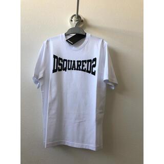 ディースクエアード(DSQUARED2)のDsquared2 ディースクエアード ロゴ 半袖Tシャツ 白 10Y(Tシャツ/カットソー)