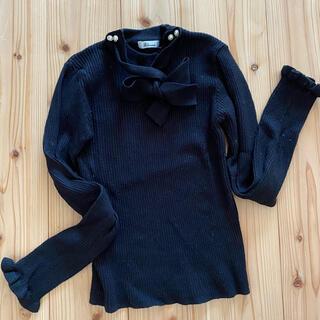 アラマンダ(allamanda)の裾スカラップニット(ニット/セーター)