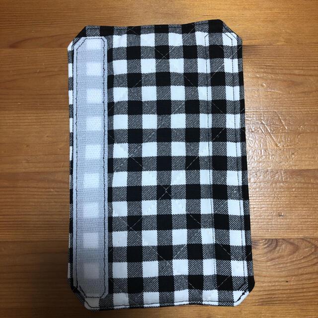 水筒肩紐カバー 市松模様 ハンドメイド ハンドメイドのキッズ/ベビー(外出用品)の商品写真