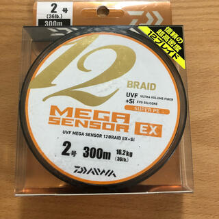 ダイワ(DAIWA)の新品未使用 UVF メガセンサー12ブレイドEX+Si(釣り糸/ライン)