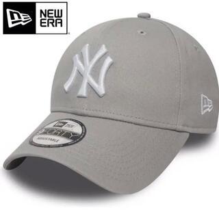 NEW ERA - ニューエラ キャップ NY ヤンキース グレー 灰色