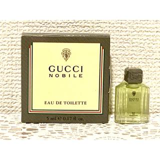 グッチ(Gucci)のNOBILE  オ-ドトワレ GUCCI 5ml(ユニセックス)