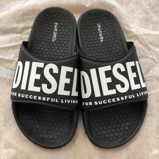 DIESEL - DIESEL KIDS  ディーゼル キッズ 20cm サンダル 黒 新品