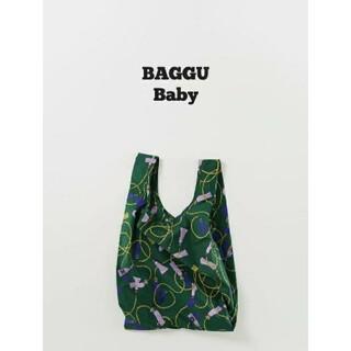 ロンハーマン(Ron Herman)のレア BAGGU baguu エコバッグ ベビー グリーン タッセル 新品(エコバッグ)