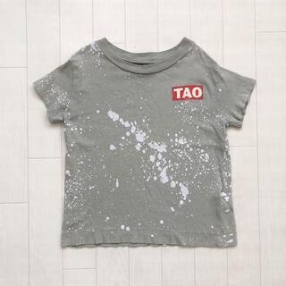 こども ビームス - 美品★ The Animals Observatory ペイントTシャツ 4Y