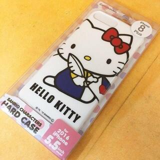 ハローキティ - キティ iPhone8P/7Plus スマホケース SAN628