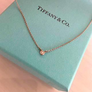 ティファニー(Tiffany & Co.)のティファニー ネックレス ダイソンコーム込み(ネックレス)