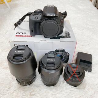 キヤノン(Canon)のCanon EOS KISS X7 (ダブルズームキット)(デジタル一眼)