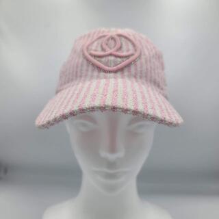 シャネル(CHANEL)の★レア★確実正規品★シャネル ストライプ キャップ 帽子 ヴィンテージ(キャップ)
