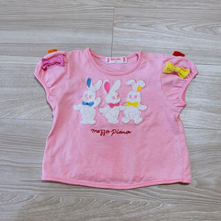 メゾピアノ(mezzo piano)のメゾピアノ  Tシャツ 80cm(Tシャツ)