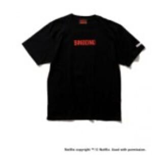 BEAMS - NETFLIX BEAMS Bingeing T-Shirt BLACK XL