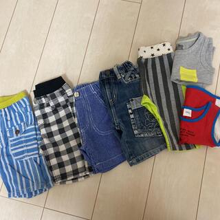 ジャンクストアー(JUNK STORE)の男の子 90cmセット 夏服(パンツ/スパッツ)