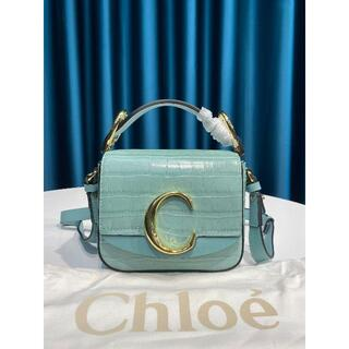 Chloe - 未使用 美品 クロエ chloe クロコ型押し ショルダーバッグ