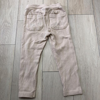 petit main - プティマイン ねこポケット パンツ 100