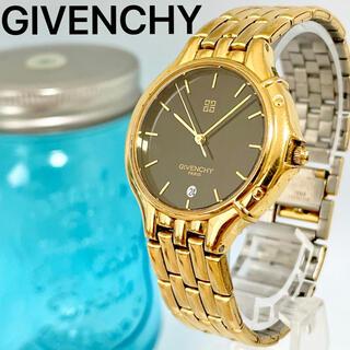 ジバンシィ(GIVENCHY)の242 ジバンシー時計 メンズ腕時計 レディース腕時計 ゴールド ブラック 希少(腕時計)