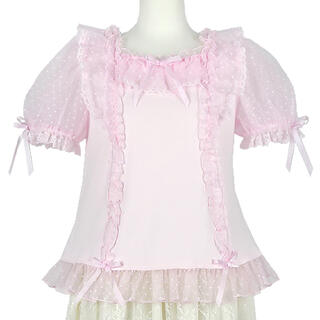 Angelic Pretty - Lovely Frillカットソー ピンク