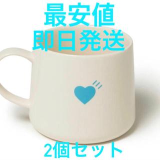 アベイシングエイプ(A BATHING APE)の2個セットヒューマンメイド ブルーボトルコーヒー マグカップ クリアファイル付き(グラス/カップ)
