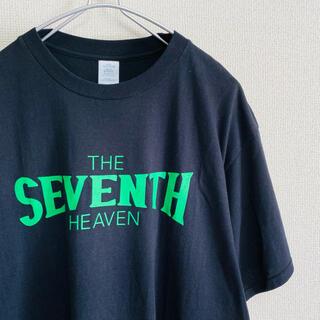 BEAMS - 美品 SEVENTH HEAVEN セブンスヘブン デカロゴ  Tシャツ