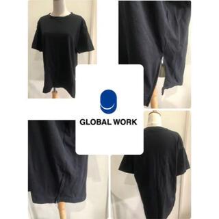 グローバルワーク(GLOBAL WORK)の* GLOBAL WORK グローバルワーク Tシャツ ゆったり 体型カバー(Tシャツ(半袖/袖なし))