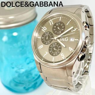 DOLCE&GABBANA - 75 ドルガバ時計 メンズ腕時計 ドルチェアンドガッパーナ クロノグラフ