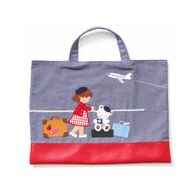 familiar(ファミリア)のファミリア JAL  完売品 バック キッズ/ベビー/マタニティのこども用バッグ(レッスンバッグ)の商品写真
