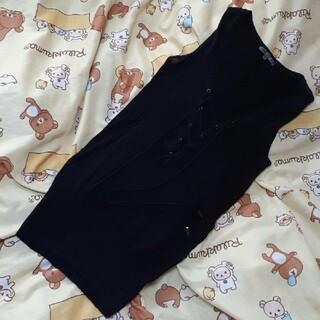 ブラックバイマウジー(BLACK by moussy)の♚BLACK by moussy♚  ノースリーブ(カットソー(半袖/袖なし))