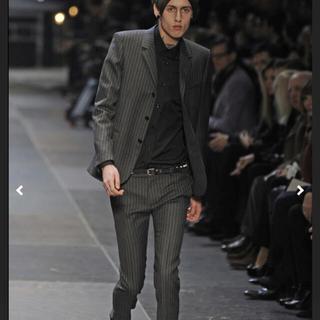 Saint Laurent - 新品未使用 全てケリングタグ付 エディ期 コレクション ストライプ スーツ