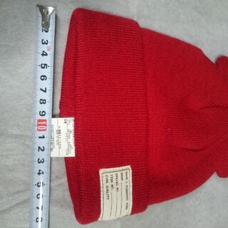 エニィファム(anyFAM)のくま耳 ニット帽 帽子 anyfam 新品 新品 未使用 タグ付き 送料無料(帽子)