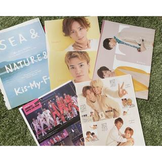 ジャニーズ(Johnny's)のKis-My-Ft2 Love-tune 切り抜き バラ売り不可(アイドルグッズ)