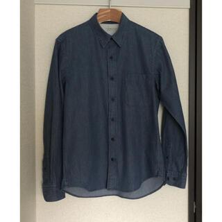 ムジルシリョウヒン(MUJI (無印良品))の無印 ネイビーストライプシャツ(シャツ)