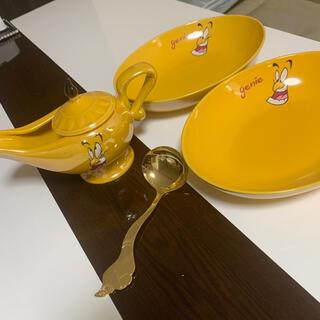Disney - カレー皿 4点セット ジーニー アラジン ディズニーランド