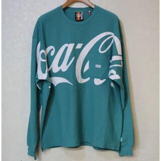 KITH × COCA-COLA ロングスリーブTシャツ (Tシャツ/カットソー(七分/長袖))