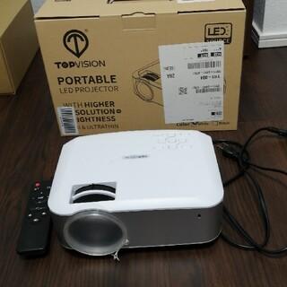 TOPVISION プロジェクター 3600lm 1080p(プロジェクター)
