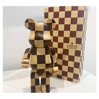 メディコムトイ(MEDICOM TOY)のBe@rbrick Karimoku Chess Wood 400%(その他)