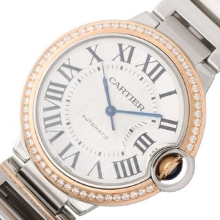 Cartier - カルティエ Cartier バロンブルーMM 腕時計 ボーイズ【中古】