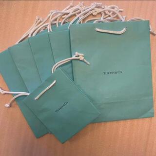ティファニー(Tiffany & Co.)のティファニー 紙袋 ショップ袋 6枚(ショップ袋)