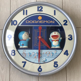 SEIKO - ドラえもん 壁掛け時計 メロディ時計 CQ314A おしゃべり時計 からくり時計