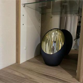 ザラホーム(ZARA HOME)のkinoko様専用  ザラホーム 置物 オブジェ ブラック フラワーベース(置物)