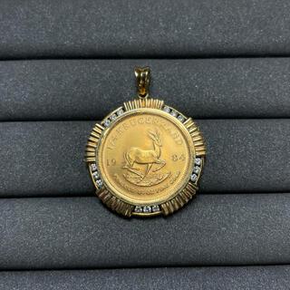 KRUGERRAND コイン 1984(ネックレス)